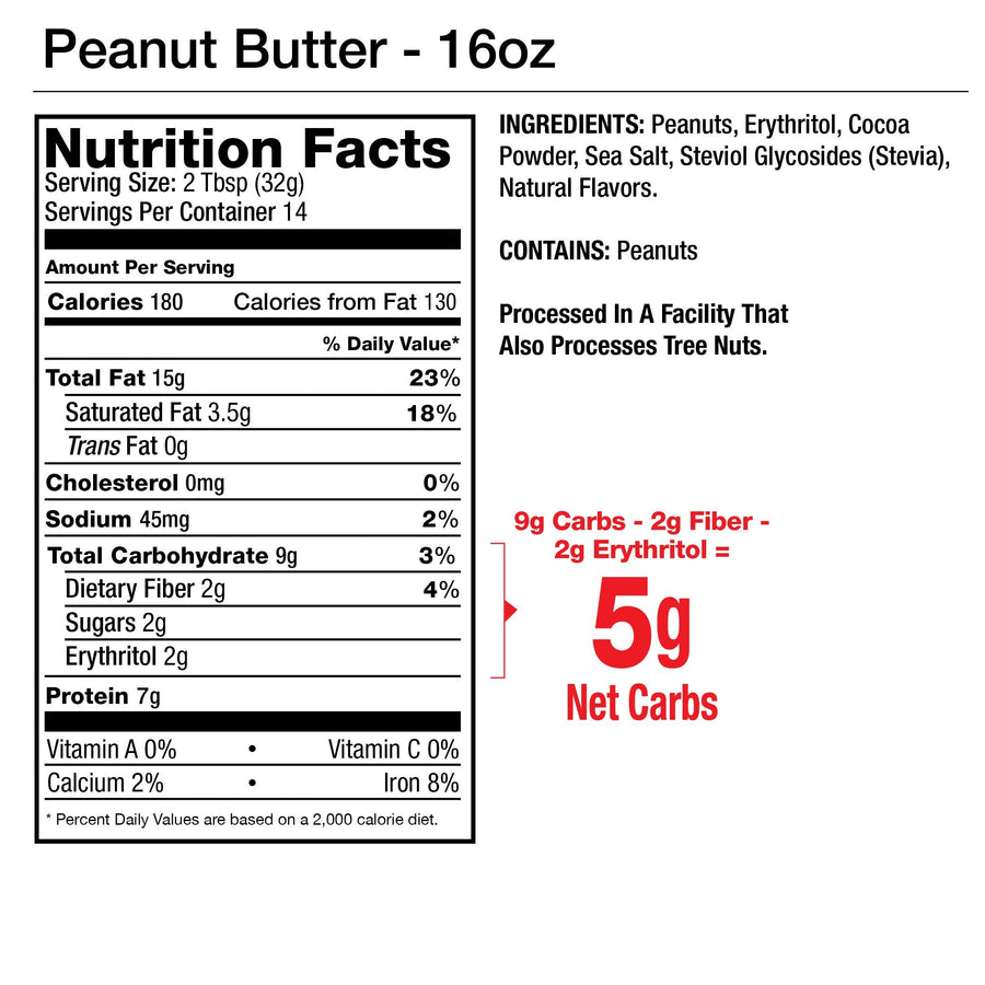 5-Pack Flavored Nut Butter Variety Pack
