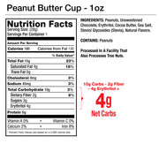 Peanut Butter Cup Nut Butter Squeeze Packs