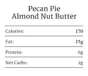 Pecan Pie Almond Nut Butter