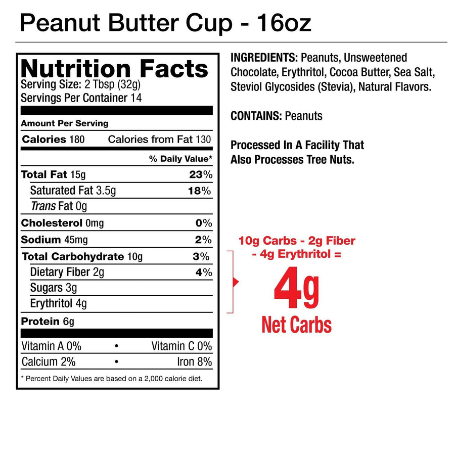 Peanut Butter Cup Nut Butter 1oz - 10 packets