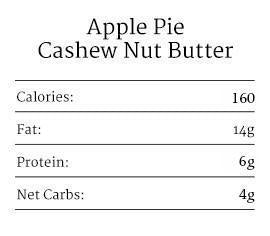 Apple Pie Almond & Cashew Nut Butter