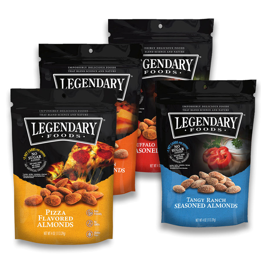 Variety Pack Seasoned Almonds