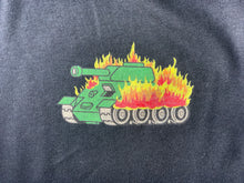 Empire Files Burning Tank Pocket Tee