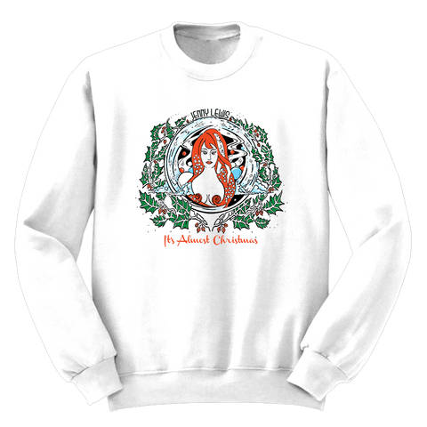 It's Almost Christmas Sweatshirt - Jenny Lewis Store