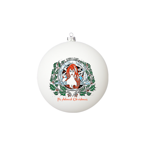 It's Almost Christmas Glass Ornament - Jenny Lewis Store