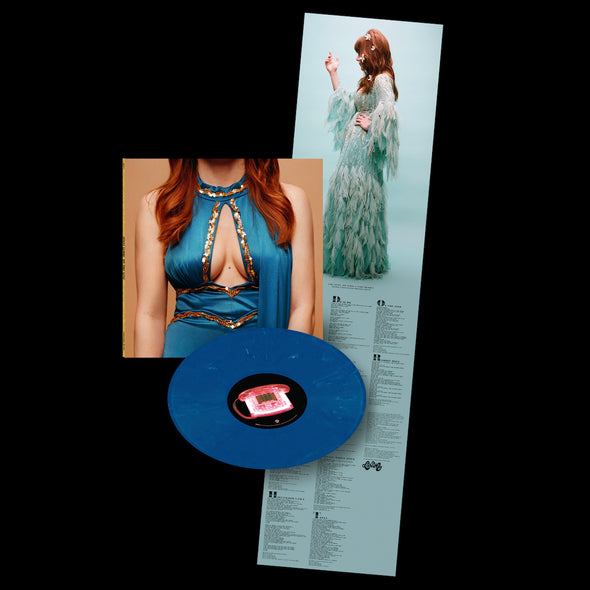On The Line Blue Vinyl - Jenny Lewis Store