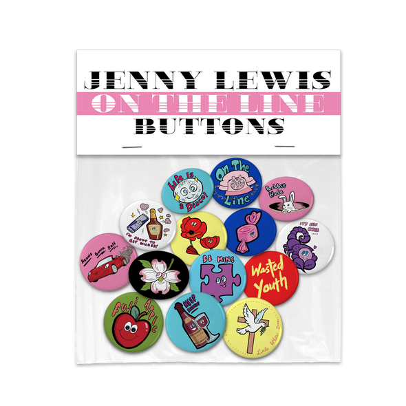 On The Line Button Set - Jenny Lewis Store