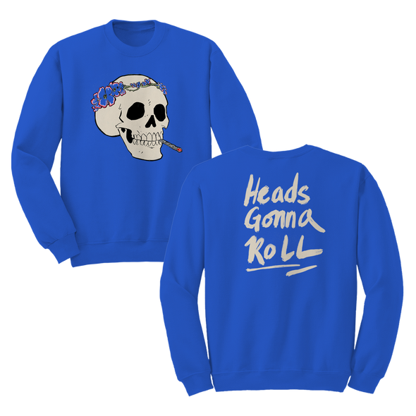 Heads Gonna Roll Crewneck - Jenny Lewis Store