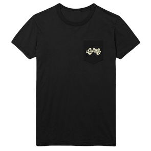 Loves Way Unisex Black Pocket Tee - Jenny Lewis Store