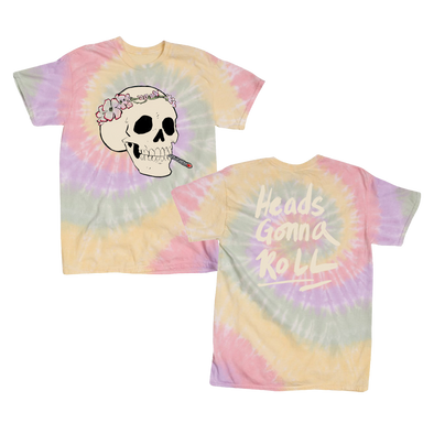 Heads Gonna Roll Tie Dye T-Shirt - Jenny Lewis Store