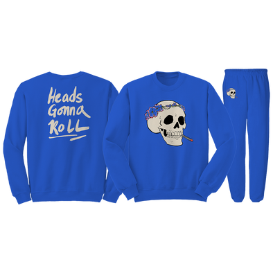 Heads Gonna Roll Set - Blue