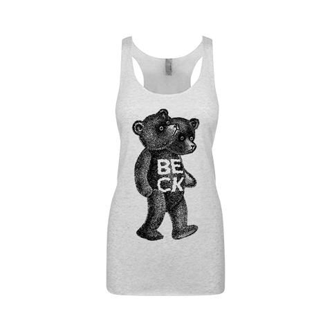 Teddy Women's Racerback Tank - Beck