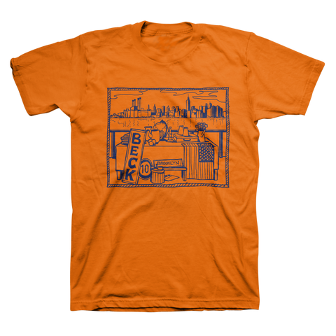 Brooklyn Tee (Orange) - Beck