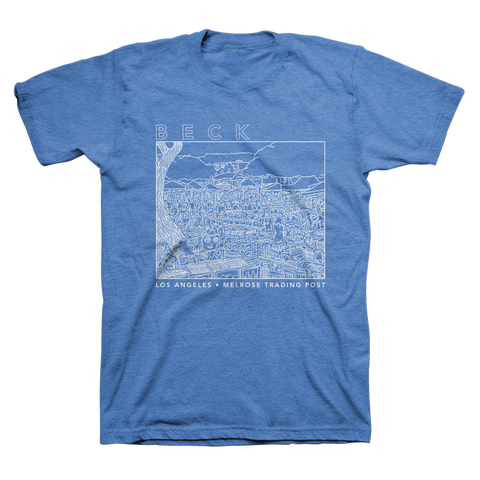 Melrose Tee (Blue) - Beck