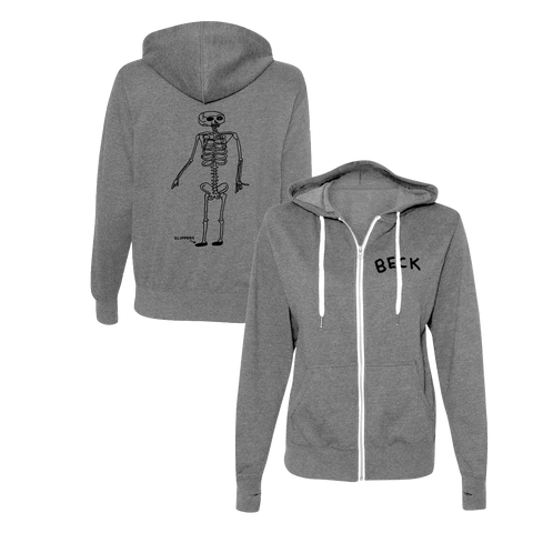Slippers Zip-Up Hoodie-BECK