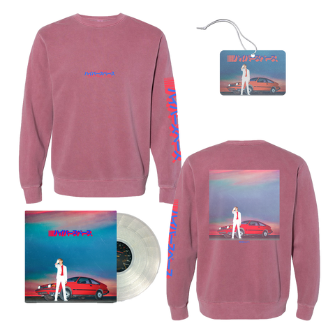 Hyperspace + Crewneck + Air Freshener-BECK
