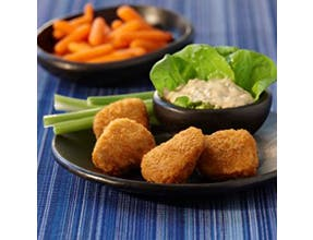 Fully Cooked 100% Natural Breaded Chicken Nuggets, 5 Pounds Ea.-- 2 per case - foodgles-supermarkets