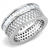 Women's Stainless Steel & AAA CZ Infinity Band - foodgles-supermarkets