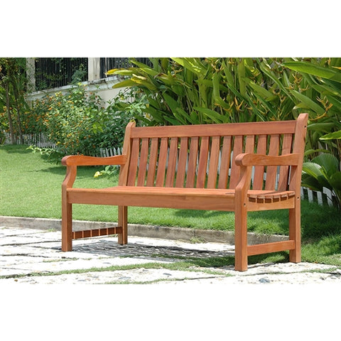 Weather Resistant Wood Garden Bench