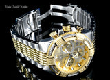 Invicta Bolt Quartz Chrono 100m Gold-Plated Stainless Steel Watch - foodgles-supermarkets