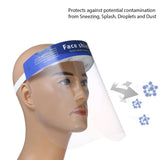 Full Face Adjustable Protective Shields (2 pack) - foodgles-supermarkets