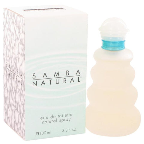 SAMBA NATURAL by Perfumers Workshop Eau De Toilette Spray 3.4 oz for Women - foodgles-supermarkets