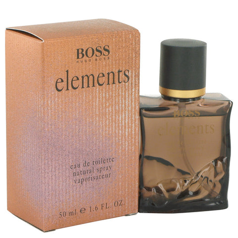 ELEMENTS by Hugo Boss Eau De Toilette Spray 1.6 oz for Men - foodgles-supermarkets