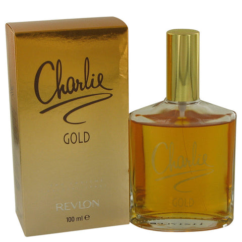 CHARLIE GOLD by Revlon Eau Fraiche Spray 3.4 oz for Women - foodgles-supermarkets