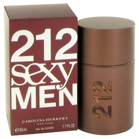 212 Sexy by Carolina Herrera Eau De Toilette Spray 1.7 oz for Men - foodgles-supermarkets