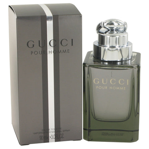 Gucci (New) by Gucci Eau De Toilette Spray 3 oz for Men - foodgles-supermarkets