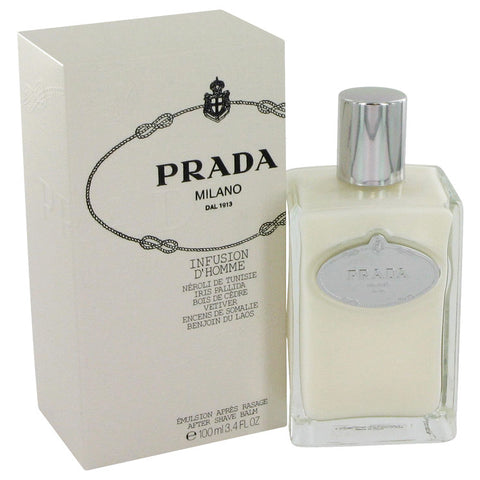 Infusion d'Homme by Prada After Shave Balm 3.4 oz for Men - foodgles-supermarkets