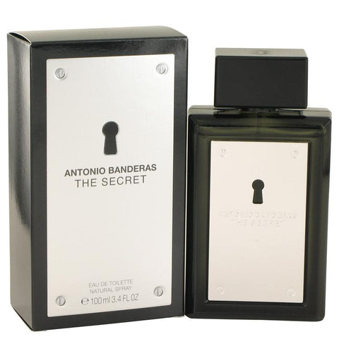 The Secret by Antonio Banderas Eau De Toilette Spray 3.4 oz for Men - foodgles-supermarkets
