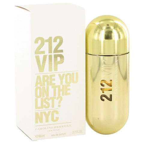 212 Vip by Carolina Herrera Eau De Parfum Spray 2.7 oz for Women