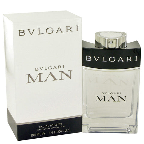 Bvlgari Man by Bvlgari Eau De Toilette Spray 3.4 oz for Men - foodgles-supermarkets