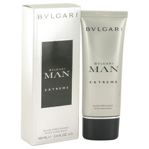 Bvlgari Man Extreme by Bvlgari After Shave Balm 3.4 oz for Men - foodgles-supermarkets
