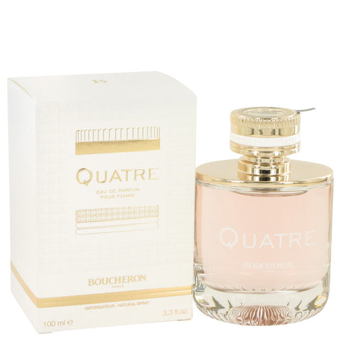 Quatre by Boucheron Eau De Parfum Spray 3.3 oz for Women - foodgles-supermarkets