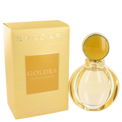 Bvlgari Goldea by Bvlgari Eau De Parfum Spray 3 oz for Women - foodgles-supermarkets