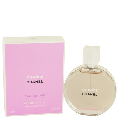 Chance Eau Tendre by Chanel Eau De Toilette Spray 1.7 oz for Women - foodgles-supermarkets