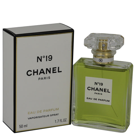 CHANEL 19 by Chanel Eau De Parfum Spray 1.7 oz for Women - foodgles-supermarkets