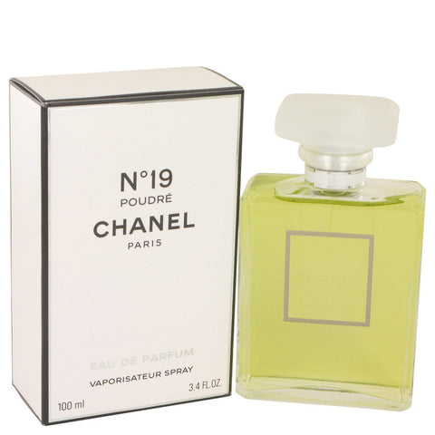 Chanel 19 Poudre by Chanel Eau De Parfum Spray 3.4 oz for Women - foodgles-supermarkets