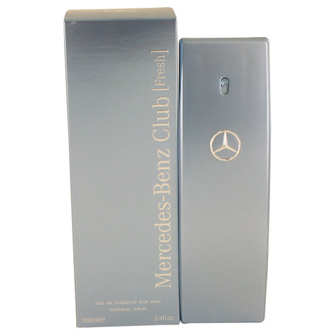 Mercedes Benz Club Fresh by Mercedes Benz Eau De Toilette Spray 3.4 oz for Men - foodgles-supermarkets