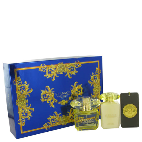 Versace Yellow Diamond Intense by Versace Gift Set -- for Women - foodgles-supermarkets