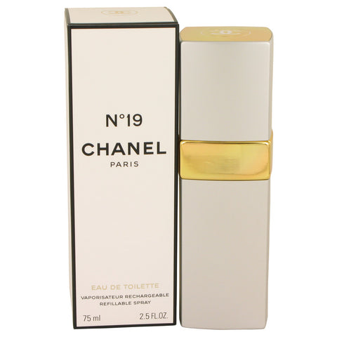 CHANEL 19 by Chanel Eau De Toilette Refillable Spray 2.5 oz for Women - foodgles-supermarkets