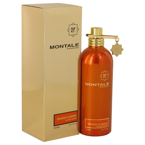 Montale Orange Flowers by Montale Eau De Parfum Spray (Unisex) 3.4 oz for Women - foodgles-supermarkets