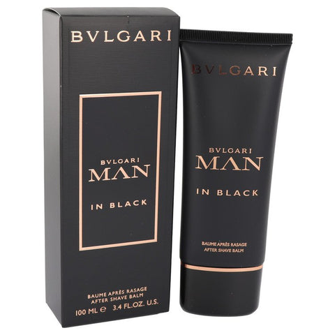 Bvlgari Man In Black by Bvlgari After Shave Balm 3.4 oz for Men - foodgles-supermarkets