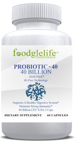 Foodglelife Probiotic 40 Billion CFU