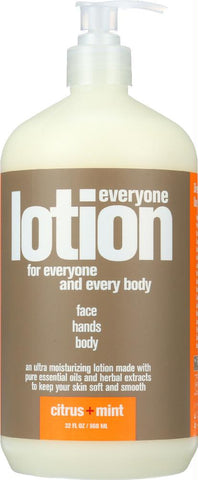 Eo Products: Everyone 3-in-1 Citrus + Mint Lotion, 32 Oz - foodgles-supermarkets