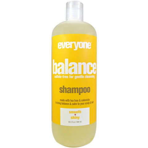 Eo Products: Everyone Hair Balance Shampoo Sulfate Free, 20.3 Oz - foodgles-supermarkets