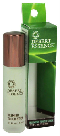 Desert Essence: Blemish Touch Stick, 0.31 Oz - foodgles-supermarkets