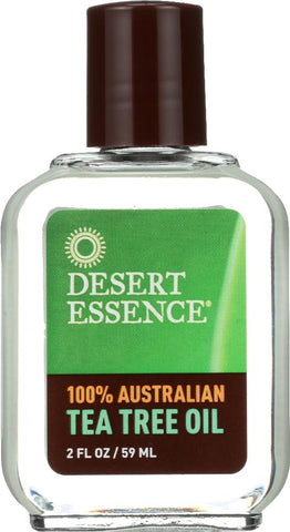 Desert Essence: Australian Tea Tree Oil, 2 Oz - foodgles-supermarkets